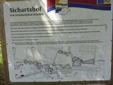Bild 13 Erinnerungstafel an die verschwundene Ortschaft Sichartshof