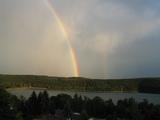 Regenbogen am schönen Sorpesee