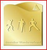 Deutsches Wanderabzeichen in Bronze