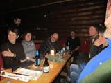 12 Abschluß in der Krähenbrinke-Hütte - Silvester