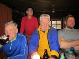 14 Für dieses Jahr das letzte Bier in der Krähenbrinke-Hütte