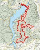 30 Wanderstrecke 3. TE HM 2020, 7 Tln, 25 km