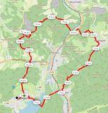 55 5. TE HM 2020 Hachener Rundweg, 19,56 km, 632 hm, 3:50 h, 5,1 km/h (25,9 Leistungs-km => 6,8 km/h)
