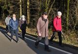 03.03.2020_4: Wanderführer Heribert Müller auf dem Rückweg von Echternhagen.