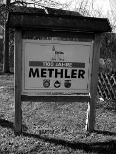 Ortseingangsschild von Methler