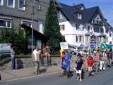 Teil vom Festumzug beim Deutschen Wandertag in Willingen