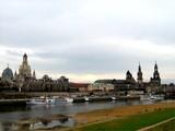 08 Dresden mit Blick auf Semperoper, Frauenkirche und Dom