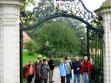 15 Schloss Proschwitz - der Eingang zum Schloss des Prinzen zur Lippe in Zadel