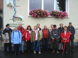 02 Start der Wandergruppe in Pirna