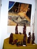 09 Das Bild von diesem kranken Jungen aus Uganda hat er selst gemacht und darum hier mit ausgestellt