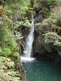 31 Wasserfall in die Kessellöcher im Schwarzwasserbach