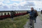 09 die vollbestzte Brocken - Dampfbahn bei der Abfahrt