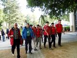 14 die Gruppe aus Oberstdorf mit Wandertagswimpel