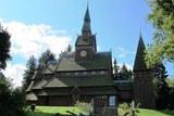 16 die Stabkirche in Hahnenklee