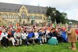 28 Schlusskundgebung vor der Kaiserpfalz