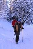 07 durch tiefen Schnee zur