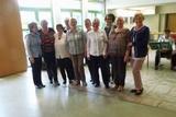 13 die Senioren Tanzgruppe