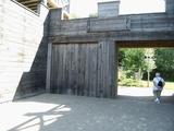 01 nachgebauter Römerwall beim Museum Haltern