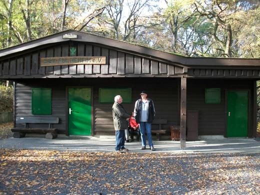 Die SGV Hütte in Neheim