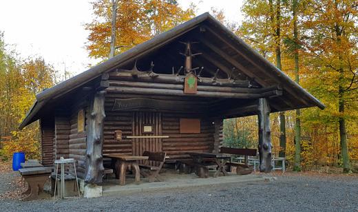 Die Krähenbrinke-Hütte der SGV-Abteilung Langscheid (Foto: Helmutheinz Welke)