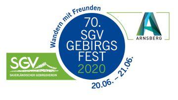 Logo 70. SGV-Gebirgsfest