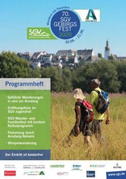 Programmheft 70. Gebirgsfest 2020 in Arnsberg