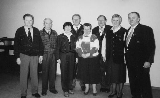 Der Vorstand 1996