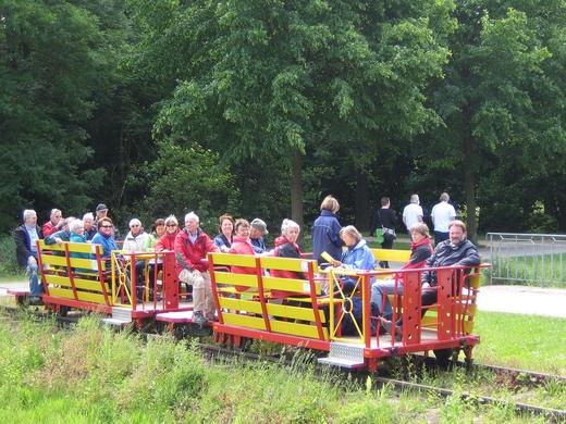 Draisinenfahrt in Kleve am 09.06.2013