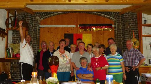 Mühlentour Ostfriesland 2014 - Deutschland hat gewonnen!