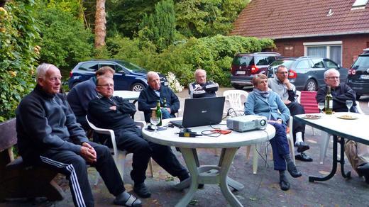 Mühlentour Ostfriesland 2014 - WM 2014 Fußballübertragung