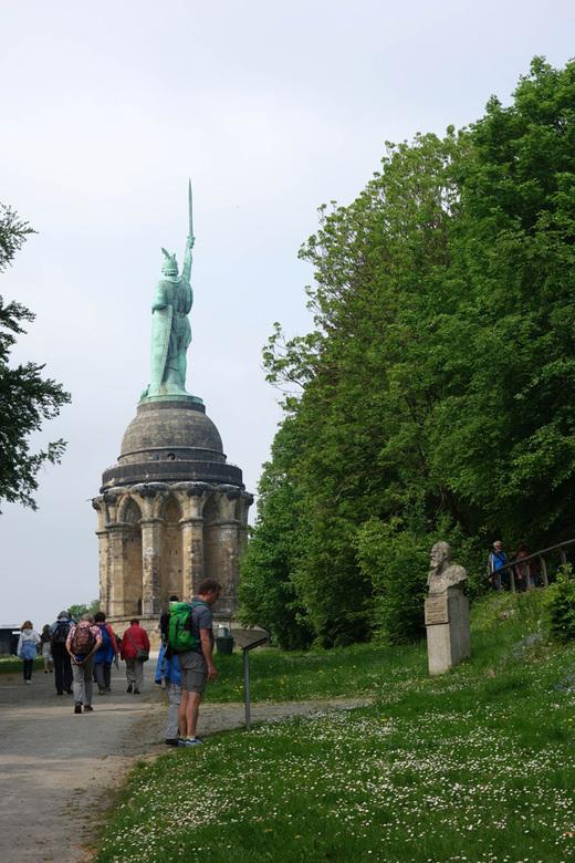 Teutoburger Wald Freizeit 2018 - Am Hermannsdenkmal