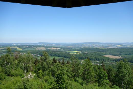 Teutoburger Wald Freizeit 2018 - Blick vom Eggeturm