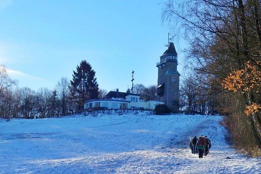 Auf der Sauerland-Waldroute rund um Iserlohn 21.01.2017