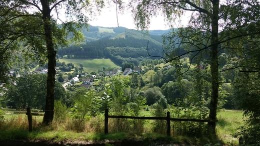 Schöne Aussichten auf Ramsbeck