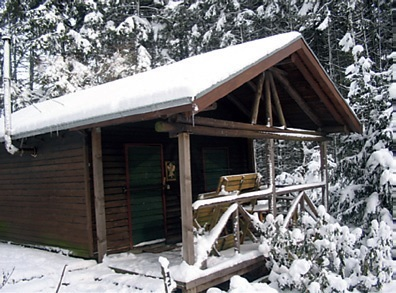 Unsere SGV Hütte