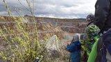 Aussichtspunkt am Steinbruch