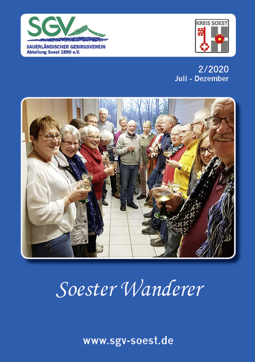Soester Wanderer 2/2020 Titelseite