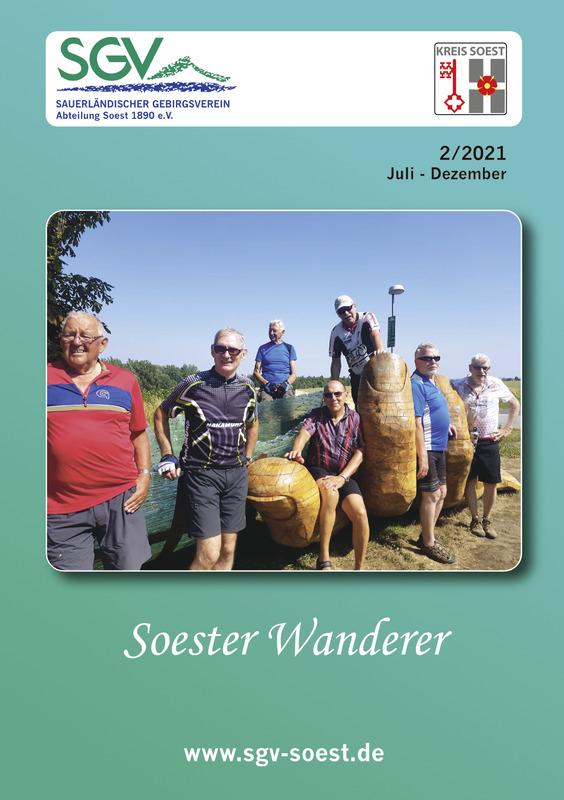 Soester Wanderer 2/2021 Titelseite