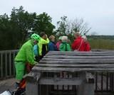4. Auf dem Aussichtsturm in den Rieselfeldern