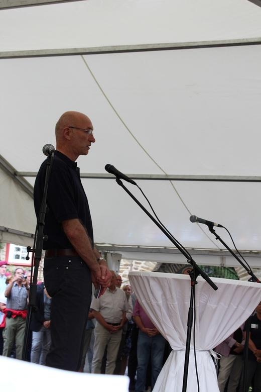 Eröffnungsrede durch Bürgermeister Stefan Hundt.