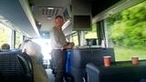 Kaffepause im Bus