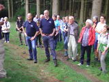 Bürgermeister Stefan Hundt mit Kreisdirektor Theo Melcher