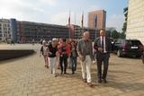 Auf geht`s in den Landtag zur Plenarsitzung                     Foto: R. Heer